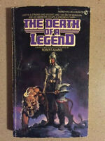 Horseclans #8: The Death of a Legend by Robert Adams (1981, Paperback) 1st ed.