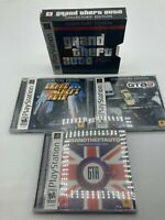 Sony PlayStation 1 PS1 Grand Theft Auto Collector's Edition GTA GTA2 London LOT