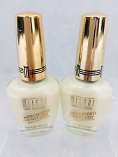 MILANI Nail Polish / Lacquer High Speed Fast Dry 27 Instant Pearl ,lot of 2 New