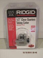 "New listing Ridgid 103, 1/8"" to1 5/8"" Quick Acting Tubing Cutter, # 32975, Free Ship Nisp!"