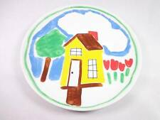 Avon Children's personal touch plate house drawing 1982 brand new condition