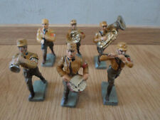 rare lot prewar german SA LINEOL marching band 6 figures composition WWII