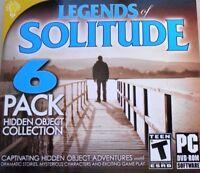 Legends Of Solitude PC Games Windows 10 8 7 XP Computer hidden object seek pack