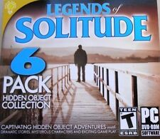 Legends Of Solitude PC Games Windows 10 8 7 XP Computer hidden object pack NEW