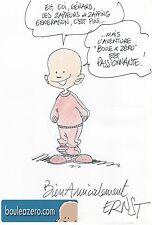 Serge ERNST dessin original dédicacé