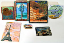 Refrigerator Magnets Bundle Paris Montezuma San Francisco Monterey Bay Newport