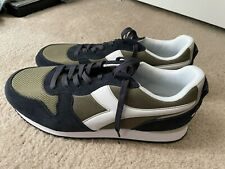 NWOB Men's Diadora Olympia Sneakers size 12 Green C8387