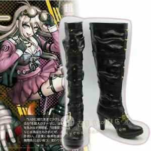 Hot! Danganronpa V3 Killing Harmony Iruma Miu Cos Shoes Cosplay Boots
