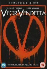 V For Vendetta (DVD, 2007) John Hurt, Hugo Weaving, Stephen Rea, Stephen Fry,