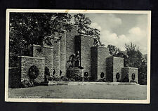 1936 Goslar Germany RPPC Postcard Cover to Buhlsen War Monument