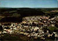 Neuhaus im Solling vom Flugzeug aus Luftaufnahme Luftbild-AK ~1970 Postkarte