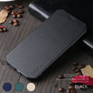 For iPhone 12 Pro Max mini Ultra Thin Shockproof Leather Flip Wallet Case Cover