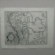 Peru map  Wytfliet Cornelis van 1597 Histoire Universelle