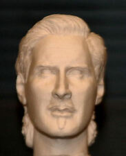 1/6  Scale Custom Errol Flynn Action Figure Head