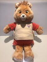 TEDDY RUXPIN Talking Bear ORIGINAL 1985 Worlds Of Wonder Vintage 80s