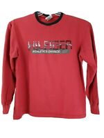Tommy Hilfiger Men's  Casual Formal Long Sleeve Sweater Size Large L Red