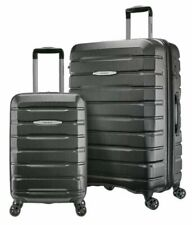 "pre Samsonite TECH TWO 2.0 2-Piece Hardside Set Luggage Gray 27"" & 21"" D.LOCK"