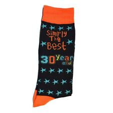 30th Birthday Gifts Simply The Best Socks Polyester Adult Size