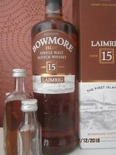 "Bowmore Laimrig 15 Jahre / ""Älteste Islay Brennerei"" / Sample Probe 2cl"