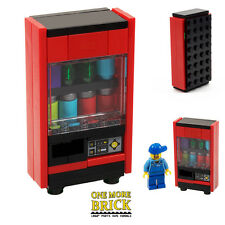LEGO Vending Machine - Drinks machine soda cans + control panel - CUSTOM NEW