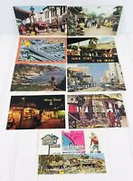 Vintage Los Angeles, CA Postcard Lot Olvera Street Laguna Beach Hollywood Blvd