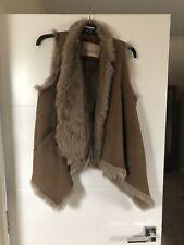 Karl Donoghue Real Fur Brown Gilet