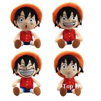 JP Anime One Piece Luffy Plush Toy Soft Stuffed Doll 12'' Figures Kids Gift
