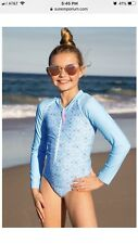 NWT Sun Emporium Girls Surf Beach Pool Suit Long Sleeve Size 10