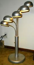 RARE FIND MID CENTURY MODERN SPUTNIK ATOMIC UFO 5 POD LAMP BRASS 50s ARTELUCE A
