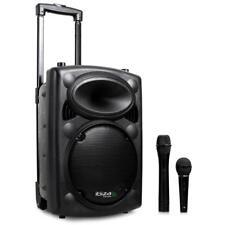 (B-WARE) PROFI MOBIL AKTIV DJ PA ANLAGE MP3 PLAYER LAUTSPRECHER BLUETOOTH USB SD