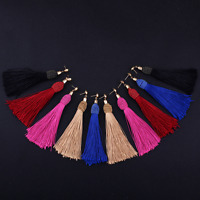 Fashion Women Bohemia Jewelry Long Tassel Fringe Drop Dangle Ear Stud Earrings