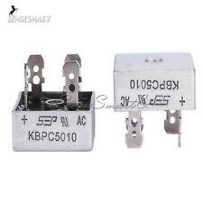 50A 1000V Metal Case Single Phases Diode Bridge Rectifier KBPC5010 ST