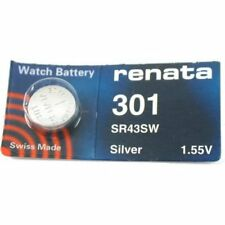 Watch Battery Batteries 2 Renata 301 Sr43Sw