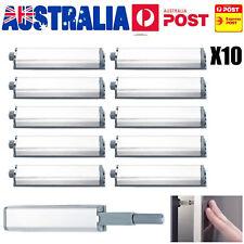 10PCS Cabinet Latch Door Drawer Push To Open System Damper Buffer Catch Set AU