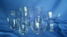 Libbey Glassware 1940s Original Box 36 Pcs Glass Pantry New OLD Stock 6 Styles