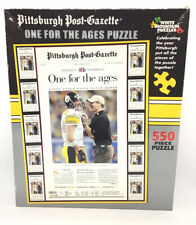 PITTSBURGH POST-GAZETTE ONE FOR THE AGES STEELERS SUPERBOWL 2006 550 PC. PUZZLE