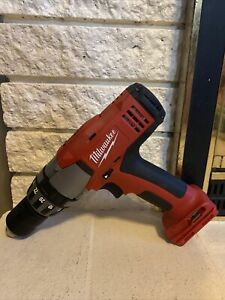 "Milwaukee 18v 1/2"" Cordless Drill/Driver 0822-20 Tested And Works!"