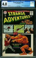 STRANGE ADVENTURES 180 CGC 4.0 COWP NICE 1ST ANIMAL MAN AND ORIGIN 1965 A7