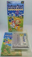 Fortune Quest: Dice O Korogase Nintendo Super Famicom NTSC-J Japanese NSF BOXED