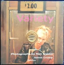 Nan GOLDIN. Variety. Skira Rizzoli, 2009. E.O.