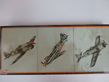 amt frog 3956 130 3 famous fighters: Tempest, DeWoitine D520c, Focke-Wulf 190A4
