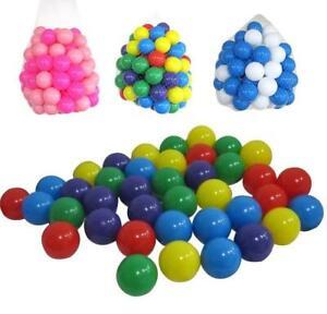 CHILDREN PLAY BALLS PLASTIC SOFT KIDS BALL PITS PEN PLAY ROOM POOL BATH NEW