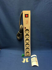 PD Device 632DA German Shuko Type F Surge Protector 6 gang, 2m cable *LOT OF 4