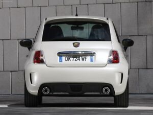 "PAINTED ""POP-STYLE"" REAR SPOILER FOR 2012-2017 FIAT 500 -SMALLER THAN ABARTH"