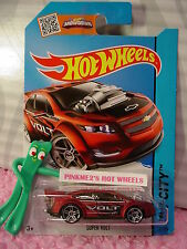 Case G/H 2015 i Hot Wheels Super Volt #22∞Satin Red Chevy;pr5∞Street Power∞