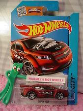 Case G/H 2015 i Hot Wheels SUPER VOLT #22∞Satin Red Chevy;pr5∞Street Power∞