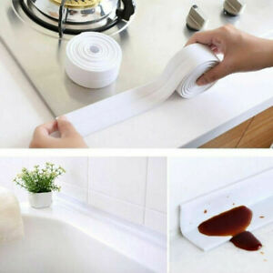 Waterproof Sink Stove Kitchen Bathroom Corner Sealant Tape Adhesive CLEARANCE