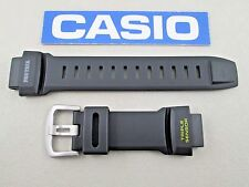 Genuine Casio ProTrek PRG-550 PRG-550-1A9 watch band black resin yellow letters