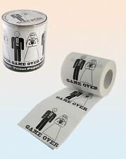 Novelty Game Over Wedding Toilet Paper Tissue Roll Party Gift Decoration Fun