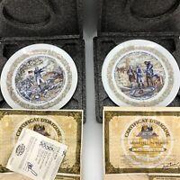 D'arceau Limoges Plates Lafayette Legacy Collection Revolutionary War Lot of 6